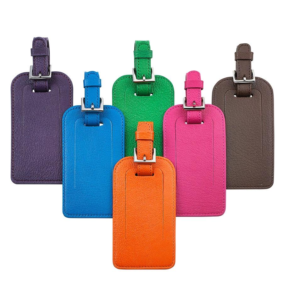 Customized Leather Luggage Tag