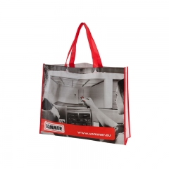holesale Custom Promotional Reusable Laminated Tote Bag