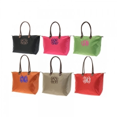 600D Zippered Tote Bag