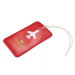 Simple and Convenient PVC Luggage Tag in colorful