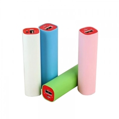 Promotional gift lipstick power bank 2600mah with real capac
