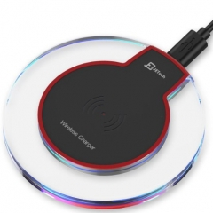 Christmas gift QI universal wireless charger 5v 2a power ban