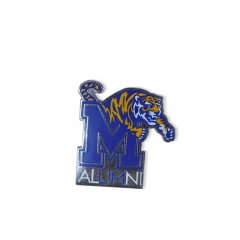 Promotional customized label pin TIGER badge