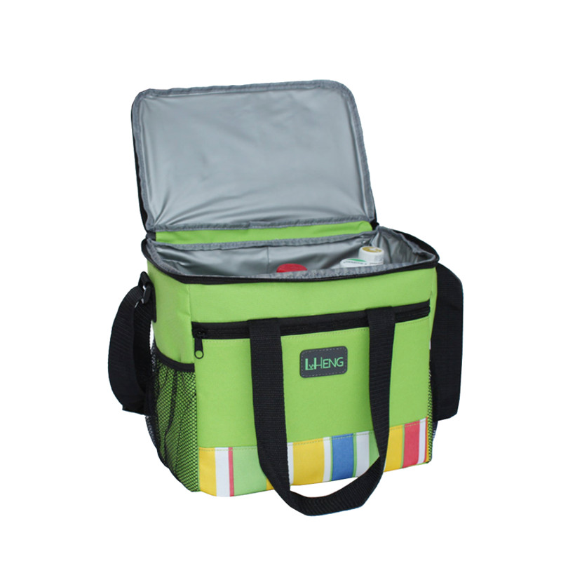 Custom Polyester Nonwoven Lunch Insulated Cooler Bag