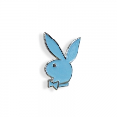 Promotional label pin,custom Rabbit badge