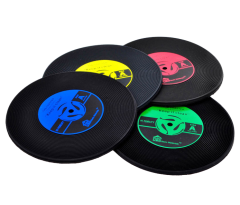 Full color printing Records Coaster