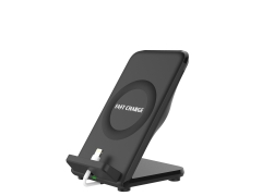 New arrival fast charging stand wireless charger with rear f